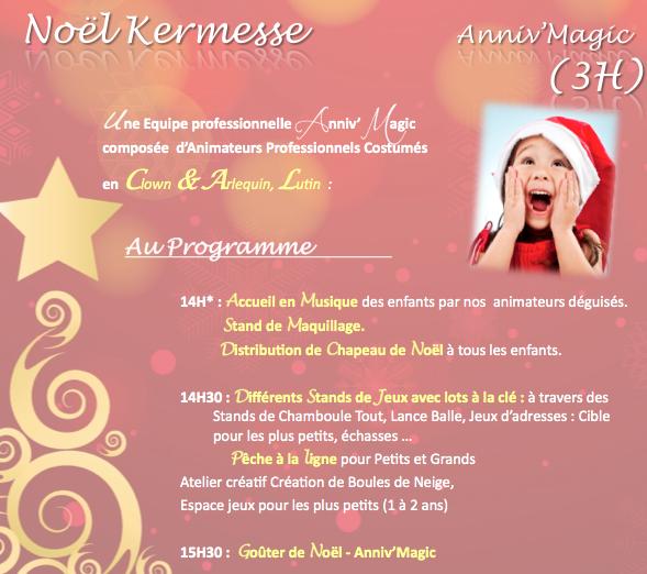 Comité Arbre de Noël Entreprise Anniv Magic