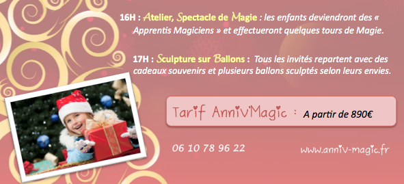 Arbre De No L Spectacle Comit Entreprise Annivmagic Anniv Magic Animation Anniversaire