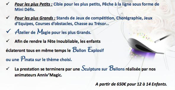 Mariage : animation adulte et enfant de luxe à paris et région parisienne